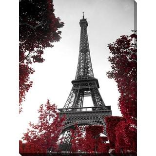 """Eiffel Tower"" Giclee Print Canvas Wall Art"