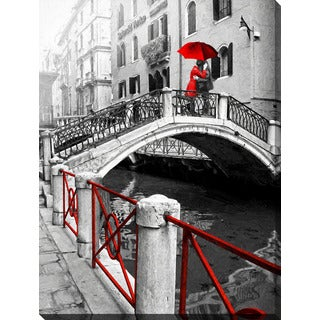 """Venice Romance"" Giclee Print Canvas Wall Art"