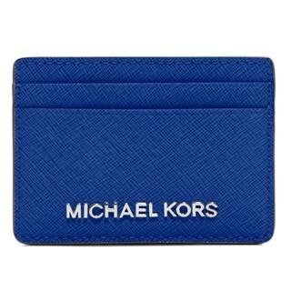 Michael Kors Jet Set Electric Blue Travel Card Holder