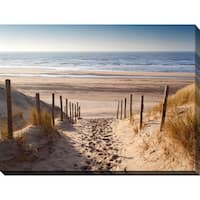 """""""Path to Ocean"""" Giclee Print Canvas Wall Art"""
