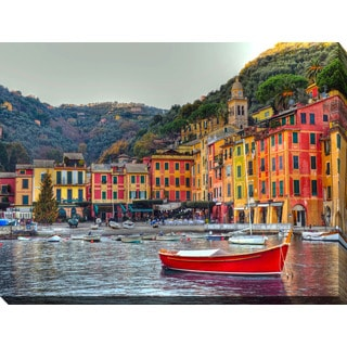 """Portofino, Italy II"" Giclee Print Canvas Wall Art"