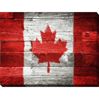 """Canada"" Giclee Print Canvas Wall Art"
