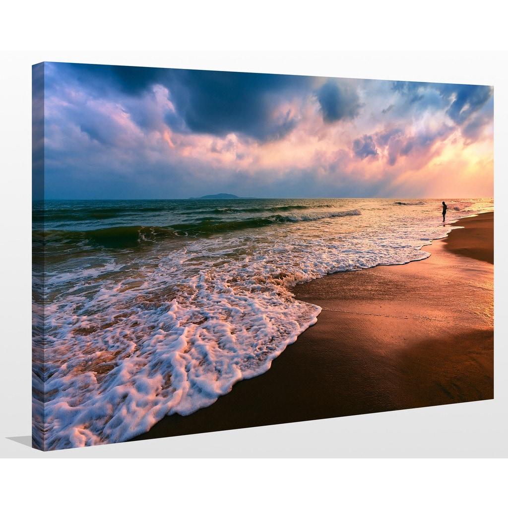 Lifes A Beach Iii Giclee Print Canvas Wall Art Overstock 13742664