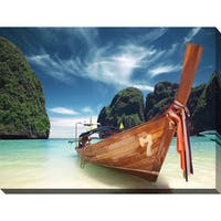 """Thailand"" Giclee Print Canvas Wall Art"