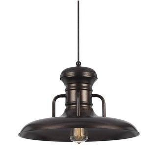 Oxidized Metal 100-watt 120-volt Medium Base E26 Pendant Lighting
