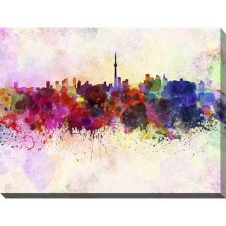 """Toronto"" Giclee Print Canvas Wall Art"
