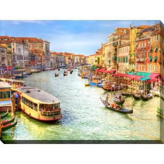 """Venice, Italy"" Giclee Print Canvas Wall Art"