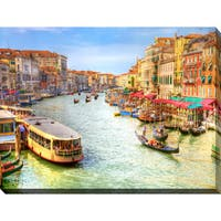 """Venice, Italy"" Giclee Print Canvas Wall Art"