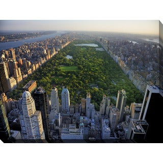 """Central Park, New York"" Giclee Print Canvas Wall Art"