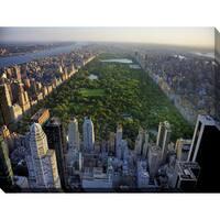 """Central Park, New York"" Giclee Print Canvas Wall Art"