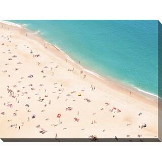 """""""Beach Please V"""" Giclee Print Canvas Wall Art"""