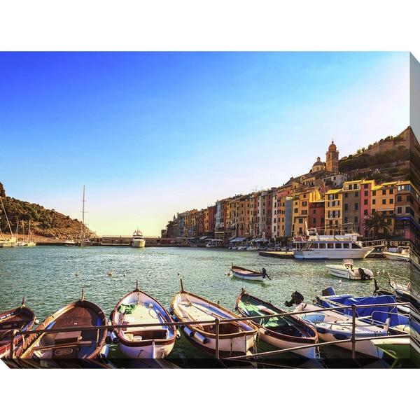 """Cinque Terre, Liguria Italy"" Giclee Print Canvas Wall Art"