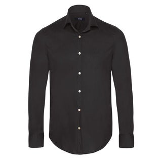 Hugo Boss Men's Black Dress Shirt