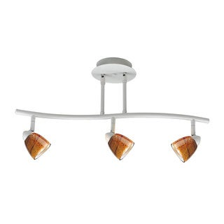 Serpentine GU-10 3-light 120-volt 50-watt Track Lighting