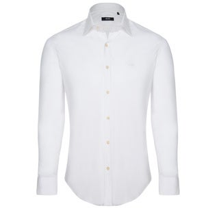 Hugo Boss Men's White Dress Shirt