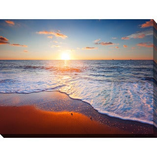 """Sunset Splendor 4"" Giclee Print Canvas Wall Art"
