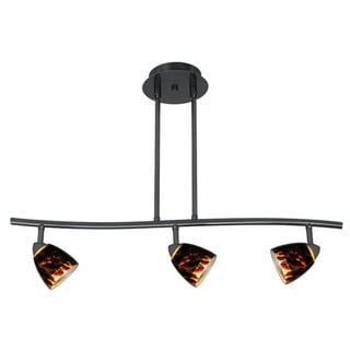 Link to Serpentine Brown Metal 120-volt 50-watt 3-light Track Lighting Similar Items in Track Lighting
