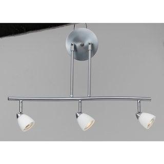 Serpentine 3-light 120-volt GU-10 Light Fixture with 3 50-watt Bulbs Included