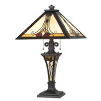 2 Tiffany Table Lamp (60 watts)