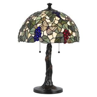 Tiffany-style 2-light 60-watt Table Lamp