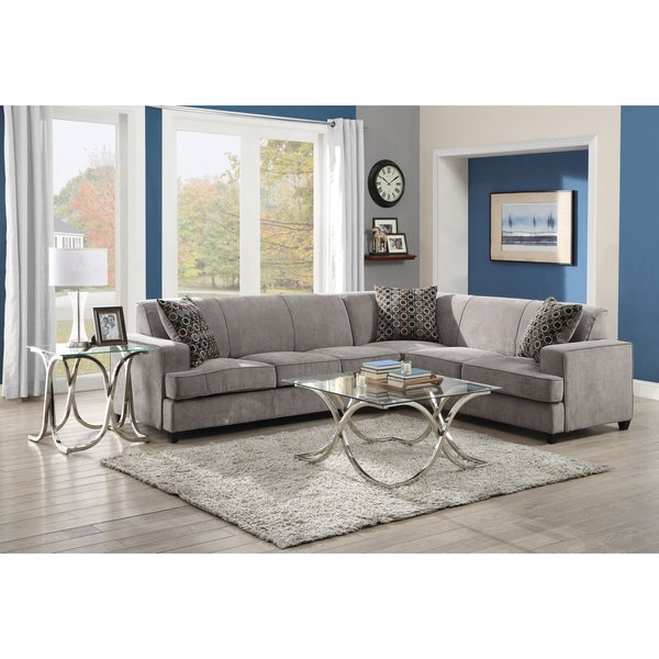 Coaster Company Grey LAF Sofa