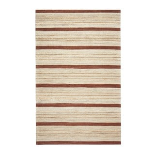 Jani Suli Brown Jute Handwoven Rug (8' x 10')
