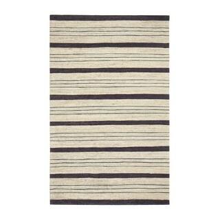 Jani Sergio Blue Jute Handwoven Rug (8' x 10')