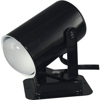 Black-finished Metal 40-watt Mini Spotlight