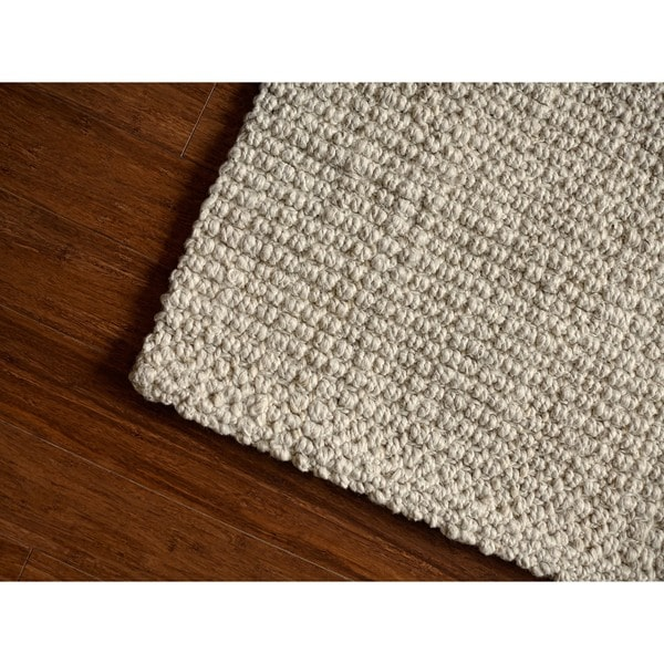 Jani Andes Ivory Jute Handwoven Rug - 10' x 14'