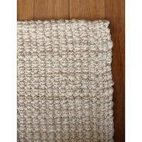 Shop Hand Woven Cape Cod Wool Cotton Rug 3 6 X 5 6 On