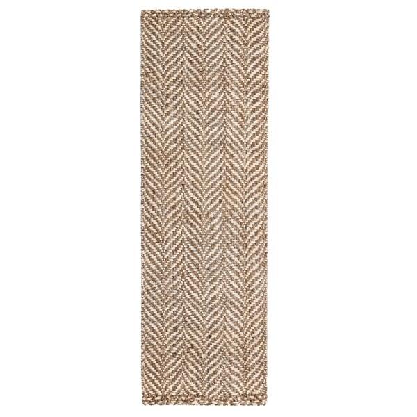 Jani Sandscape Natural Jute Handwoven Rug