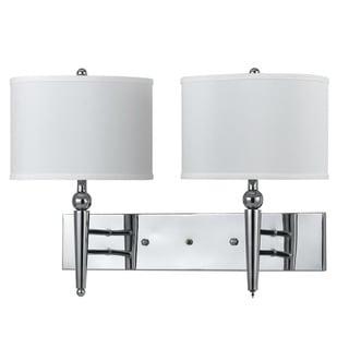 Metal 2-light 60-watt Wall Lamp