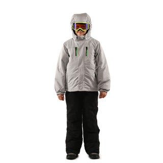Pulse Boy's Silver Grey Coldfront 2 Piece Suit