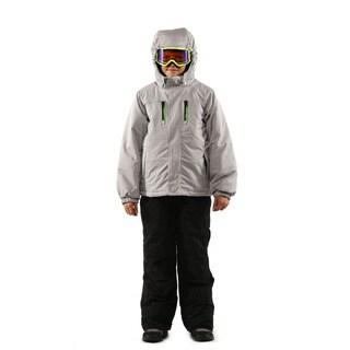Pulse Boy's Silver Grey Coldfront 2 Piece Suit