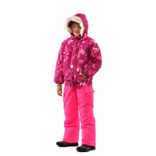 Pulse Girl's Hot Pink Diamond Suit 2 Piece Set (Option: 3t)