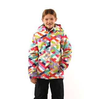 686 Girls Grey Flora Insulated Jacket