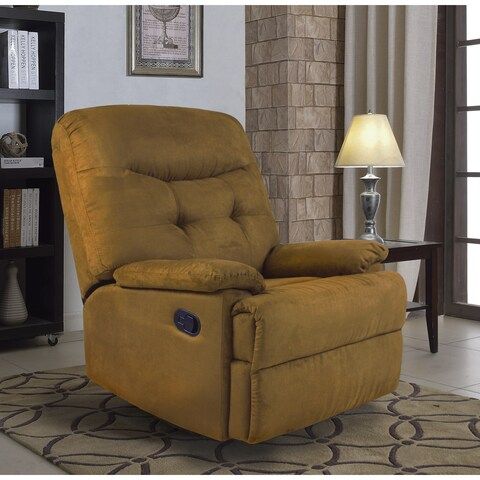 Big Jack Microfiber Recliner Chair, 7PM Collection by Ocean Bridge