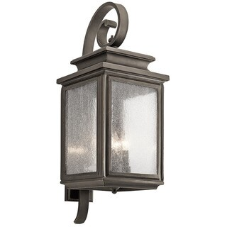 Kichler Lighting Wiscombe Park Collection 4-light Olde Bronze Wall Lantern