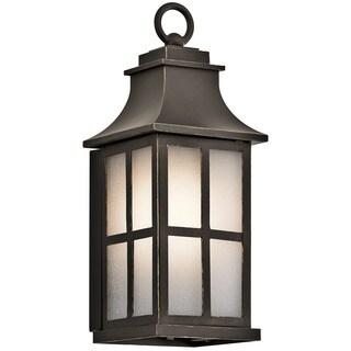 Kichler Lighting Pallerton Way Collection 1-light Olde Bronze Wall Lantern