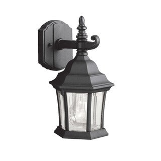 Kichler Lighting Townhouse Collection 1-light Black Wall Lantern