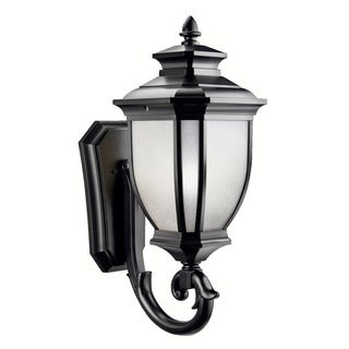 Kichler Lighting Salisbury Collection 1-light Black Wall Lantern
