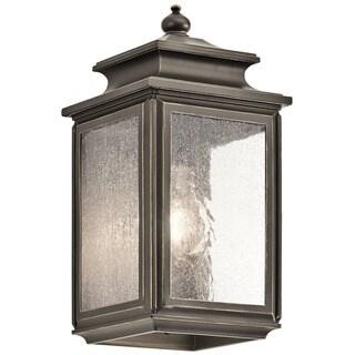 Kichler Lighting Wiscombe Park Collection 1-light Olde Bronze Wall Lantern