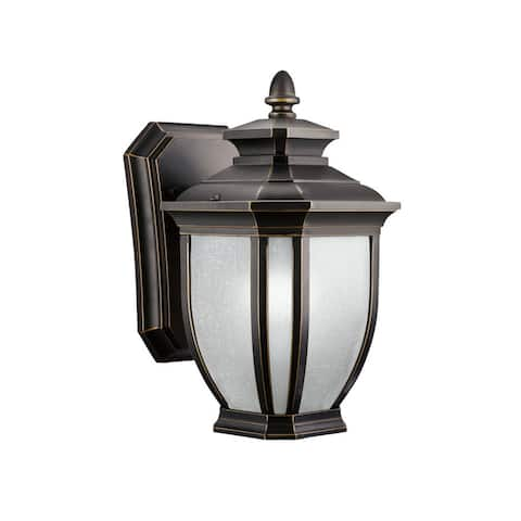 Kichler Lighting Salisbury Collection 1-light Rubbed Bronze Wall Lantern