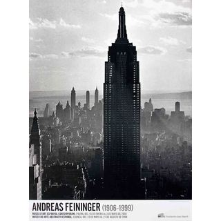 Andreas Feininger 'Empire State, New York-2008' Poster, 36.25 x 26.75 inches