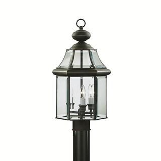 Kichler Lighting Embassy Row Collection 3-light Olde Bronze Outdoor Post Mount