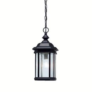 Kichler Lighting Kirkwood Collection 1-light Black Outdoor Pendant