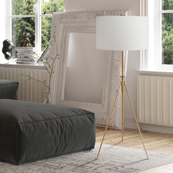 Furniture of America Barlow Metal 1-light Accent Tripod Floor Lamp