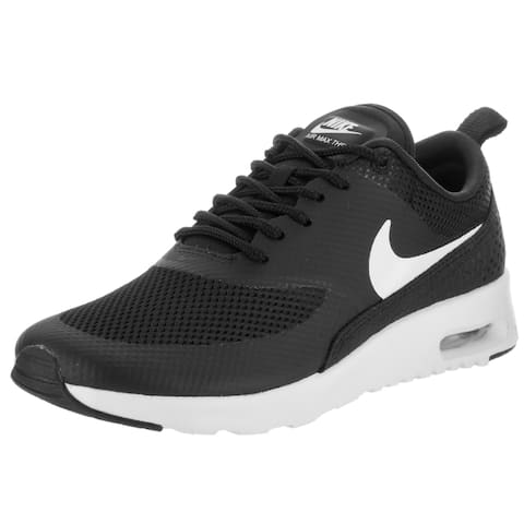 super popular 09521 f4b03 Nike Women s Air Max Thea Black Synthetic Leather Running Shoe