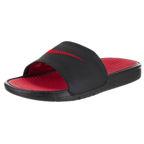 669a4679 Shop Nike Men's Benassi Solarsoft Slide Sandal - Free Shipping On Orders  Over $45 - Overstock - 13746908