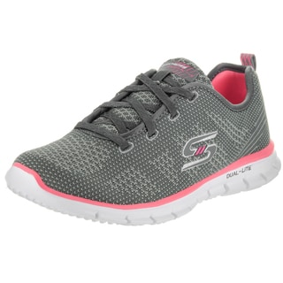 Skechers Women's Glider-Forever Young Grey Textile Casual Shoes